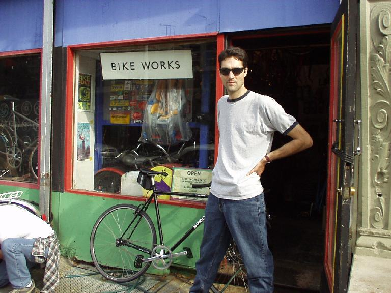 Al at The Bike Shop